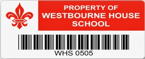 security barcode asset label