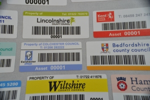 County asset labels